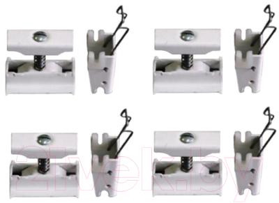Монтажный комплект для радиатора Zehnder Charleston 774411 (белый)