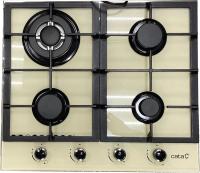 Газовая варочная панель Cata RCI 631 (Ivory/Х) -