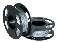 Пластик для 3D печати U3Print PETG 1.75мм 1кг (алюминий) -
