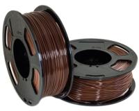Пластик для 3D печати U3Print GF PETG 1.75мм 1кг (коричневый) -