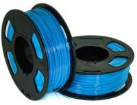 Пластик для 3D печати U3Print GF PETG 1.75мм 1кг (светло-синий) -