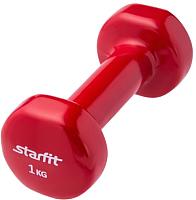 Гантель Starfit DB-101 (1кг, красный) -