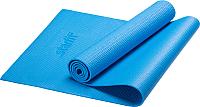 Коврик для йоги и фитнеса Starfit FM-101 PVC (173x61x0.3см, синий) -