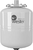 Мембранный бак Wester Premium WDV8P (нержавеющая сталь) -