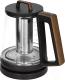 Электрочайник Redmond RK-G1309D (черный/дерево) -