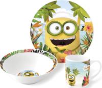 Набор столовой посуды Stor Миньоны Рай / 74965 -