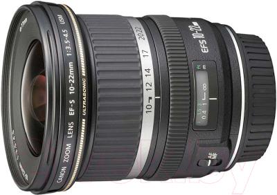 Широкоугольный объектив Canon EF-S 10-22mm f/3.5-4.5 USM (9518A007) объектив canon 10 22mm f 3 5 4 5 ef s usm canon ef s [9518a007]
