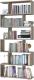 Стеллаж Сокол-Мебель СТ-1 (дуб делано) -