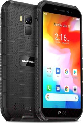 Смартфон Ulefone Armor X7 (черный)