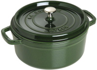 Кокотница Staub La Cocotte 1102685 (зеленый базилик) -
