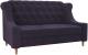 Скамья кухонная мягкая Mebelico Бронкс 238 / 104533 (велюр, фиолетовый) -