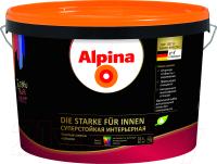 Защитно-декоративный состав Alpina Лазурь-гель (10л, белый) -