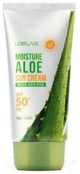 Крем солнцезащитный Lebelage Moisture Aloe Sun Cream SPF50 PA+++ (70мл)