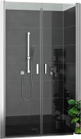 Душевая дверь Roth Lega Lift Line LZCN2/100 (хром/прозрачное стекло) -