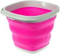 Складное ведро Bradex TD 0554 (розовый) -
