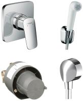 Комплект смесителей Hansgrohe Logis 71604000 + 13620180 + 27454000 + 32127000 -