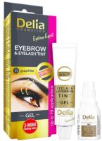 Краска для бровей Delia Cosmetics 1.1 графитовый (15мл) -