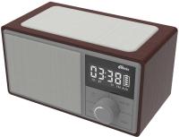 Радиочасы Ritmix RRC-885 (серебристый) -