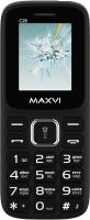 Мобильный телефон Maxvi C26 (черный/синий) -