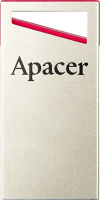 Usb flash накопитель Apacer AH112 Silver/Red 16GB (AP16GAH112R-1) -