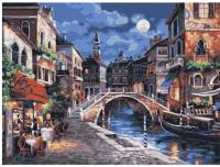 Картина по номерам Azart Ночь в Венеции / AZ3040GK-17 -