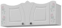 Шкаф навесной Аквилон Розалия №7 (лиственница белая) -