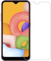 Защитное стекло для телефона Case Tempered Glass для Galaxy A01 (прозрачный) -