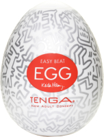 Мастурбатор для пениса Tenga Keith Haring Egg Party / 43389 -