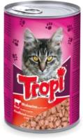 Корм для кошек Tropi Кусочки в соусе с говядиной / TROPI05 (415г) -
