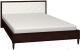 Каркас кровати Глазов Montpellier 1 180x200 (орех шоколадный) -