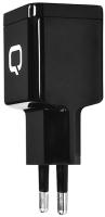 Зарядное устройство сетевое Qumo Energy + Type C Cable / 24155 (черный) -