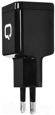 Qumo Energy + Type C Cable / 24155 (черный) Зарядное устройство сетевое   купить в Минске, Гомеле, Витебске, Могилеве, Бресте, Гродно