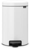 Мусорное ведро Brabantia Pedal Bin NewIcon / 111969 (12л, белый) -