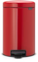 Мусорное ведро Brabantia Pedal Bin NewIcon / 112003 (12л, пламенно-красный) -