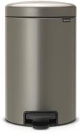 Мусорное ведро Brabantia Pedal Bin NewIcon / 113628 (12л, платиновый) -