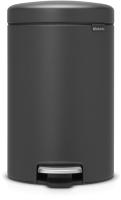 Мусорное ведро Brabantia Pedal Bin NewIcon / 113802 (12л, минерально-графитовый) -