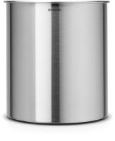 Корзина для бумаг Brabantia Waste Paper Bin / 311888 (7л, стальной матовый) -