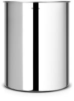 Корзина для бумаг Brabantia Waste Paper Bin / 181467 (15л, стальной полированный) -