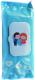 Влажные салфетки детские Aqua Viva Антибактериальные с клапаном (72шт) -