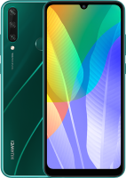 Смартфон Huawei Y6p / MED-LX9N (изумрудно-зеленый) -