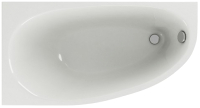 Ванна акриловая Aquatek Дива 150x90 L (с каркасом и экраном) -