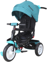 Детский велосипед с ручкой Lorelli Jaguar Air Wheels Green Luxe / 10050390017 -