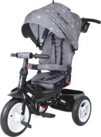 Детский велосипед с ручкой Lorelli Jaguar Air Wheels Grey Stars / 10050392001 -