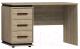 Письменный стол Глазов Oslo 84 (дуб серый Craft/черный) -