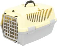 Переноска для животных Trixie Traveller Capri I 39815 (светло-серый/желтый) -