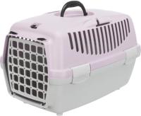 Переноска для животных Trixie Traveller Capri II 39823 (светло-серый/светло-сиреневый) -