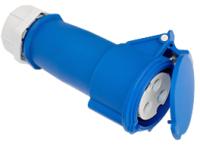 Розетка кабельная Bylectrica РПП16-973 (синий/серый) -