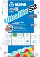 Клей для плитки Mapei Ultralite S2 (15кг, серый) -