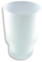 Стакан для зубной щетки и пасты Novaservis 6106.XS -