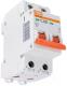 Выключатель автоматический TDM ВА 47-29 2Р 4А (C) 4.5кА / SQ0206-0087 -